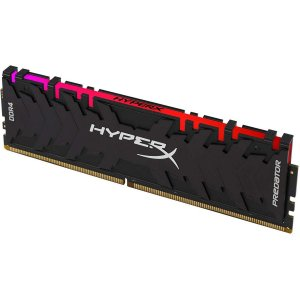 Memória 16GB DDR4 CL16 3200 Mhz KINGSTON HYPERX PREDATOR RGB - HX432C16PB3A/16 (1X16GB)