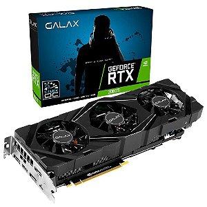Placa de Vídeo GPU Geforce RTX 2080TI SG 1 CLICK OC 11GB GDDR6 352 BITS GALAX - 28IULBUCT2CK