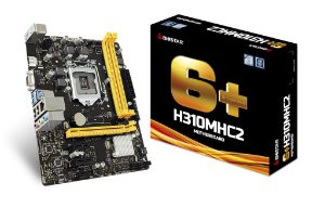 Placa Mãe BIOSTAR Chipset Intel H310MHC2 Socket LGA 1151