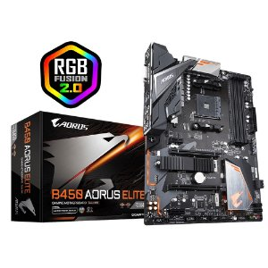 Placa Mãe GIGABYTE CHIPSET AMD B450 AORUS ELITE SOCKET AM4