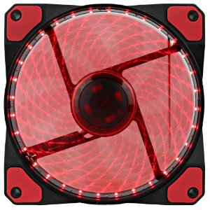 Cooler Fan Gamemax Galeforce 32 LED, 12cm, Vermelho - GF12R