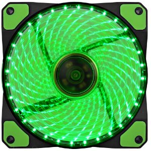 Cooler Fan Gamemax Galeforce 32 LED, 12cm, Verde - GF12G