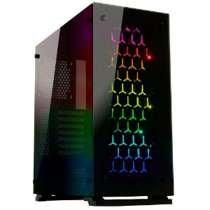 (OFERTA BLACK FRIDAY) Gabinete Gamer Gamemax Onyx II ATX Glass 4x FANs Rainbow de 120mm - M910