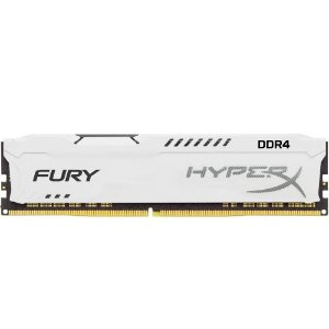 Memória P/ Desktop 16gb DDR4 - 2666 Mhz Kingston HyperX Fury White HX426C16FW/16 (1X16gb)