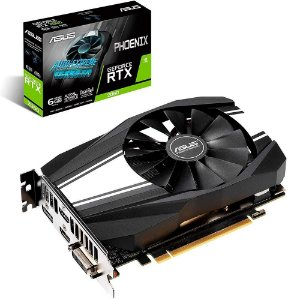 Placa de Vídeo GPU GEFORCE RTX 2060 OC 6GB GDDR6 192 BITS ASUS PHOENIX - PH-RTX2060-6G