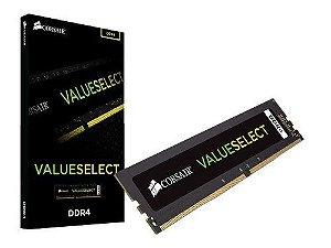 Memória 4gb DDR4 2666 Mhz CL18 Corsair Value Select (1X4gb) - CMV4GX4M1A2666C18