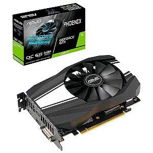 Placa de Vídeo GPU GEFORCE GTX 1660TI OC 6GB GDDR6 192 BITS ASUS PHOENIX - PH-GTX1660TI-O6G