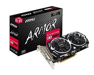 Placa de Vídeo CPU AMD RADEON RX 570 OC 4GB GDDR5 - 256 BITS MSI ARMOR - 912-V341-422
