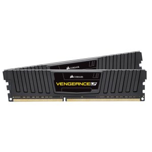 Memória P/ Desktop 16GB DDR3 CL10 1600 Mhz CORSAIR VENGEANCE LP - CML16GX3M2A1600C10 (2X8GB)