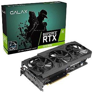 Placa de Vídeo GPU GEFORCE RTX 2070 SUPER 8GB GDDR6 EX GAMER BLACK EDITION - GALAX 27ISL6MDW0BG