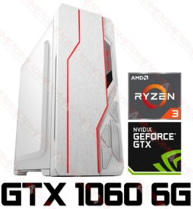 PC Gamer AMD Ryzen 3 3200G, 8GB DDR4, SSD 240GB, GPU GEFORCE GTX 1660 OC 6GB