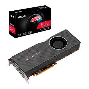Placa de Vídeo GPU AMD RADEON RX 5700XT 8GB GDDR6 - 256 BITS PCI-E 4.0 ASUS RX5700XT-8G - 90YV0D80-U0NA00