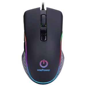 Mouse Gamer OnePower Striker, RGB, 7 Botões, 3200DPI - MO-505