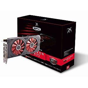 Placa de Vídeo GPU AMD RADEON RX 570 OC 8GB GDDR5 - 256 BITS XFX RX-570P8DFD6