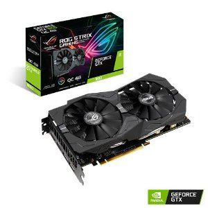 Placa de Vídeo GPU Geforce ROG STRIX 1650 GAMING OC 4GB GDDR5 - 128 Bits ASUS ROG-STRIX-GTX1650-O4G-GAMING