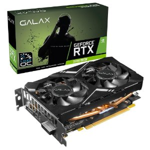 Placa de Vídeo GPU GEFORCE RTX 2060 SUPER ELITE 8GB OC 1-CLICK GDDR6 256 BITS GALAX 26ISL6HP09MN