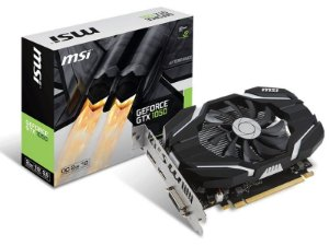 Placa de Vídeo GPU GEFORCE GTX 1050 OC 2GB GDDR5 - 128 BITS MSI 912-V809-2286