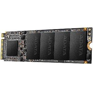 SSD Adata XPG SX6000, 1TB, M.2 NVMe, Leitura 2100MB/s, Gravação 1500MB/s - ASX6000PNP-1TT-C