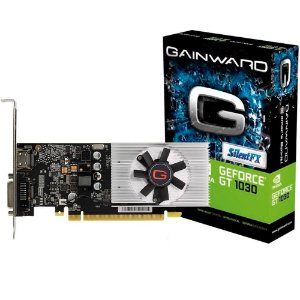 Placa de Vídeo Geforce GT 1030 2GB GDDR5 64 Bits GAINWARD - NE5103000646-1080F