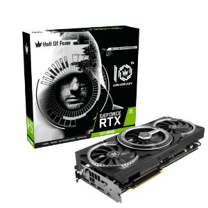 (OFERTA) Placa de Vídeo GPU GEFORCE RTX 2070 SUPER HOF BLACK EDITION 8GB GDDR6 - 256 BITS GALAX 27ISL6UC53HT