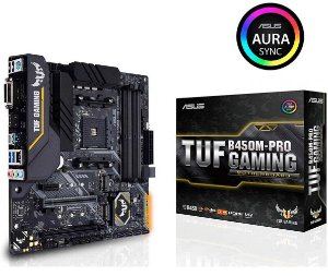 Placa Mãe ASUS TUF CHIPSET AMD B450M-PRO GAMING SOCKET AM4