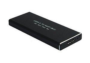 "GAVETA PARA HD SSD 2.5"" SATELLITE AX-203S M.2"