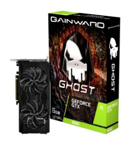 Placa de Vídeo GPU GEFORCE GTX 1660 GHOST 6GB GDDR5 192 Bits GAINWARD NE51660018J9-1161X