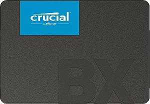 SSD Crucial BX500, 1 Tera, SATA, Leitura 540MB/s, Gravação 500MB/s - CT1000BX500SSD1