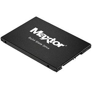 SSD Maxtor 480GB, SATA, Leitura 540MB/s, Gravação 475MB/s - YA480VC1A001