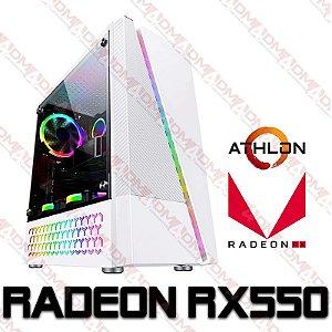 PC Gamer AMD Athlon 3000G, 8GB DDR4, HD 1 Tera, GPU AMD RADEON RX 550 4GB