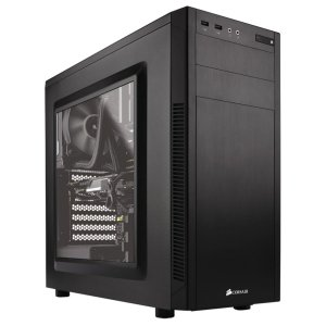 Gabinete ATX Gamer CORSAIR CARBIDE 100R BLACK C/ Tampa Lateral em Acrílico e USB 3.0 Frontal - CC-9011075-WW