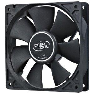 Cooler FAN Deepcool XFan 120, 120mm, Preto - DP-FDC-XF120