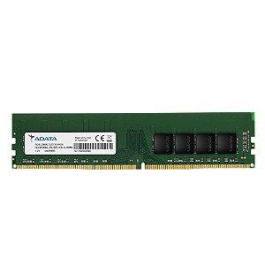 Memória Ram P/ Desktop 4GB DDR4 CL19 2666 Mhz ADATA AD4U2666W4G19-S (1X4GB)