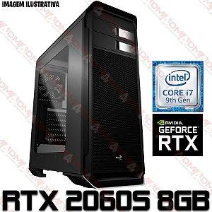 PC Gamer Intel Core i7 Coffee Lake 9700F, 16GB DDR4, HD 1 Tera, GPU Geforce RTX 2060 Super 8GB