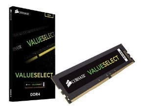 Memória 8gb DDR4 2666 Mhz CL18 Corsair Value Select (1X8gb) - CMV8GX4M1A2666C18