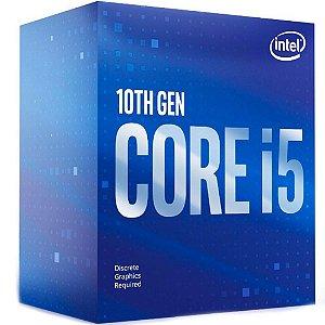 Processador Intel Core i5 Comet Lake 10400F, Cache 12MB, 2.9GHz, LGA 1200 - BX8070110400F