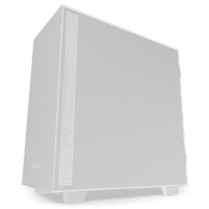 Gabinete Gamer NZXT H510, Mid Tower, com FAN, Lateral em Vidro - CA-H510B-B1