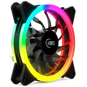 Cooler FAN KWG Gemini E1, 120mm, RGB - GEMINI E1-1201