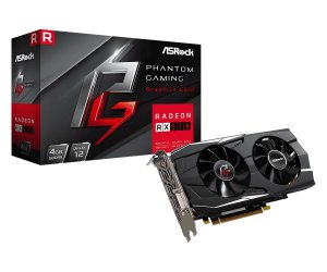 Placa de Vídeo GPU AMD RADEON RX 570 OC 4GB GDDR5 - 256 BITS ASROCK PHANTOM GAMING - 90-GA0K00-00UANF