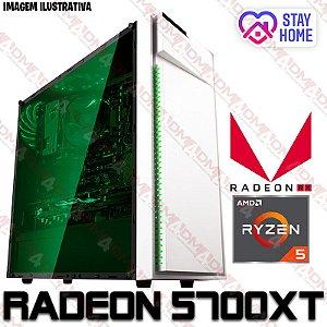 PC Gamer AMD Ryzen 5 3600, 16GB DDR4, SSD 240GB, HD 1 Tera, GPU AMD RADEON RX 5700XT 8GB