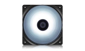 Cooler FAN Deepcool RF120W, 120mm, LED Branco - DP-FLED-RF120-WH