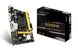 Placa Mãe BIOSTAR CHIPSET AMD B350M SOCKET AM4