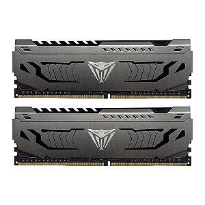 Memória P/ Desktop 32GB DDR4 CL16 3200 Mhz PATRIOT VIPER GAMING - PE000641-PVS432G320C6K (2X16GB)