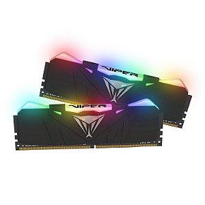 Memória 32GB DDR4 CL18 3600 Mhz PATRIOT VIPER GAMING RGB - PVR432G360C8K (2X16GB)