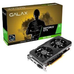 Placa de Vídeo GPU GEFORCE GTX 1660 SUPER (1-Click OC) 6GB GDDR6 - 192 BITS GALAX 60SRL7DS03ES