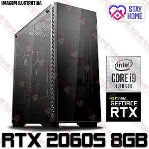 PC Gamer Intel Core i9 10900K, 16GB DDR4, SSD 480GB, GPU GEFORCE RTX 2060 SUPER 8GB