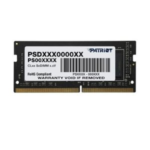 Memória Ram P/ Notebook 16GB DDR4 CL19 2666 Mhz Value Select PATRIOT PSD416G266681S (1X16GB)