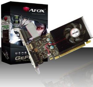 Placa de Vídeo GPU GEFORCE GT 730 LP 4GB DDR3 128 BITS AFOX AF730-4096D3L5
