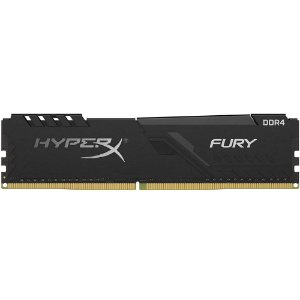 Memória P/ Desktop 16gb DDR4 CL15 - 3000 Mhz Kingston HyperX Fury Black HX430C15FB3/16 (1X16gb)