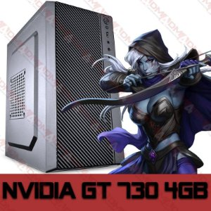 PC Gamer MOBA BOX Intel Core i3 Ivy Bridge 3220, 8GB DDR3, SSD 120GB, GPU GEFORCE GT 730 4GB